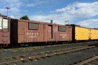 D&RGW work car at Chama, NM