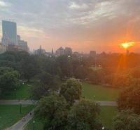 Sunset in Boston