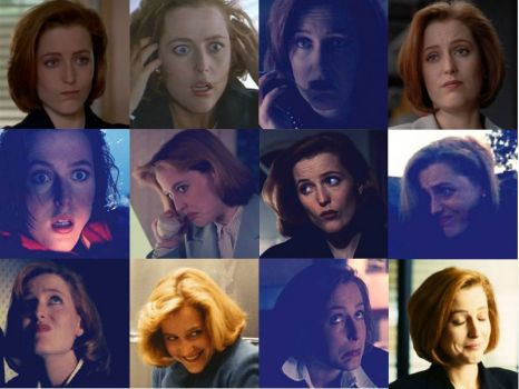 The number and variety of strange faces Scully pulls is truly impressive.