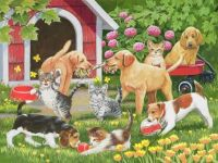 puppies-and-kittens-spring-and-summer-theme-