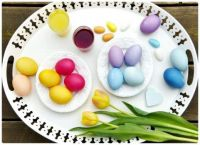 Easter Egg Lunch Tray