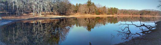 Sunday Morning at Mirror Lake