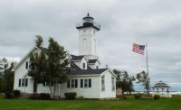 Lighthouse in the Thousand Islands