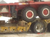 60 ton crane on lowbed