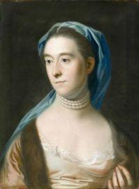 John Singleton Copley Portrait of Mrs. Joseph Henshaw