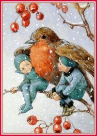 Kind Robin (smaller size)