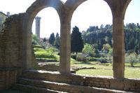 Roman theatre at Fiesole near Florence