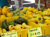 Colorful and nutritious squash