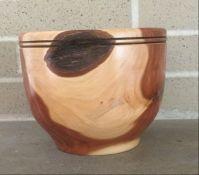 A cedar bowl
