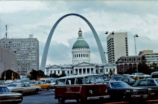 St. Louis Arch in 1981