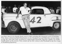 Lee Petty's 1949 Plymouth