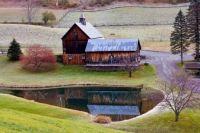 Farm In Woodstock, Vermont.