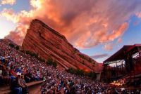 Red Rocks Canyon CO Amphitheatre