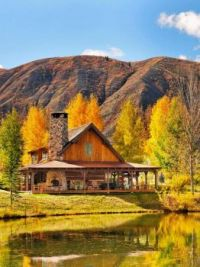 Beautiful Cabin Along the Banks of the Roaring Fork River --  Colorado...