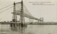 Widnes to Runcorn transporter bridge