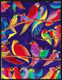 Laurel Burch bird pattern