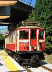 restored b c electric tram