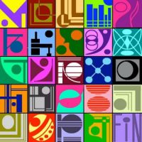 25 x 2 kleuren