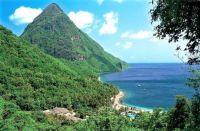 Caribbean Isl. Saint Lucia - Karibský ostrov Svatá Lucie