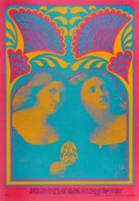 Vintage poster Avalon Ballroom, San Francisco 1967