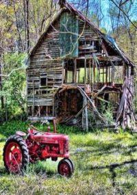 Very Old Barn