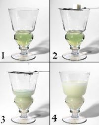 Absinthe #4 - Preparation - fourth in a series