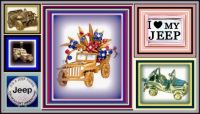 THEME - Automobiles - I LOVE MY JEEP JEWELS from Rocks to Riches.