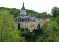 Chateau at Gargilesse, France