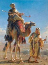 Bedouin on camel