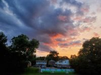 Sunset over the Big Playground July 2021