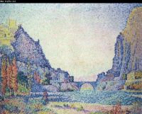 Sisteron by Paul Signac