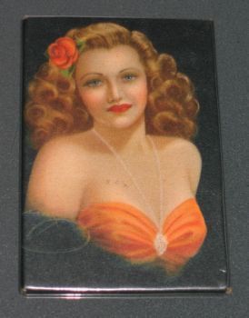 Pocket Mirror Lady