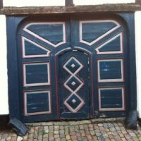 Door in Ribe, Denmark