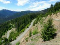 Manning Park look-out road