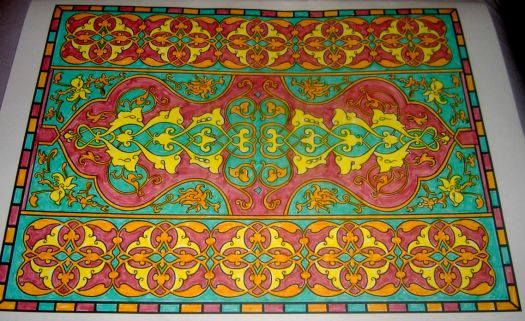 Art - Tile - Paisley Scroll
