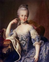 Martin van Meytens Portrait of Marie Antoinette circa 1767-1768