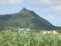 """The Thumb"" mountain, Mauritius"