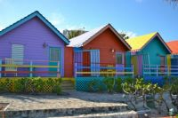 Huts In the Bahamas