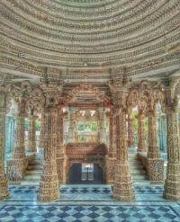 Rajasthan Jain Temple, India.  6034
