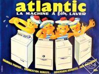 Themes Vintage ads - Atlantic washing machines