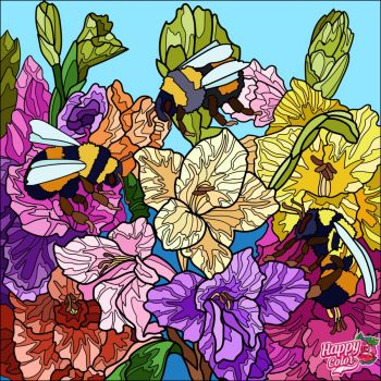 Bees and Blooms
