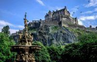 Edinburgh Castle, Edinburgh, UK