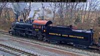Para N&W 475 steam engine