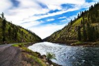 Clearwater River in the Spring