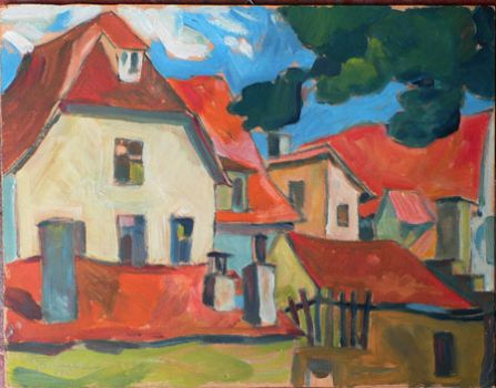 Village Houses by Germeyer