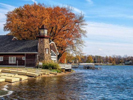 Jordan Lake Lighthouse