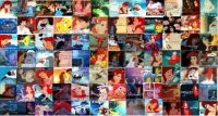 Little Mermaid Collage
