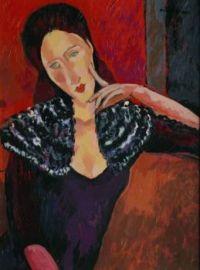 Lady  - Amedeo  Modiglianni