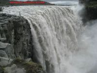 WATERFALLS, FAMOUS, DITTIFOSS FALLS, ICELAND.