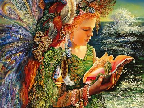 Josephine Wall - Beachcomber Fairy